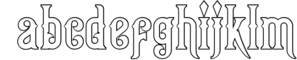 Victorian Fonts Collection 11 Font LOWERCASE