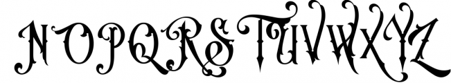 Victorian Fonts Collection 1 Font UPPERCASE