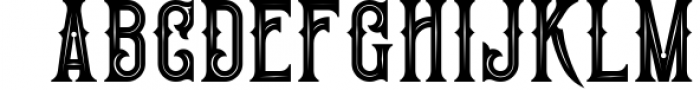 Victorian Fonts Collection 4 Font UPPERCASE