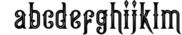 Victorian Fonts Collection 4 Font LOWERCASE