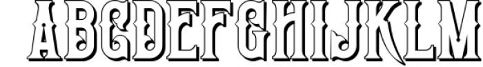 Victorian Fonts Collection 5 Font UPPERCASE