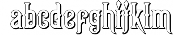 Victorian Fonts Collection 5 Font LOWERCASE