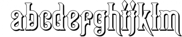 Victorian Fonts Collection 6 Font LOWERCASE