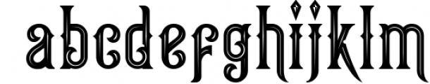 Victorian Fonts Collection 8 Font LOWERCASE