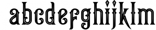 Victorian Fonts Collection 9 Font LOWERCASE