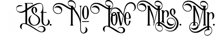 Victorian Parlor 1 Font UPPERCASE