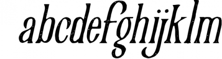 Victorian Parlor 8 Font LOWERCASE