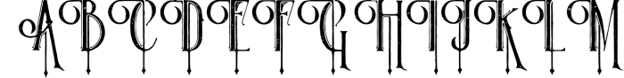 Victorian Parlor 9 Font UPPERCASE