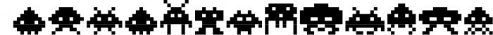 Video Game Font Font UPPERCASE