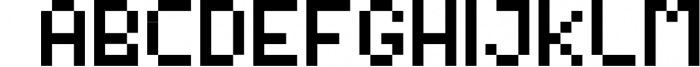 Video Game Font Font LOWERCASE