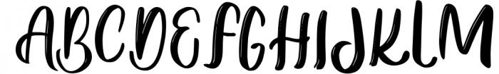 Viera - Handwritten Modern Script Font UPPERCASE