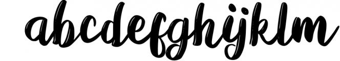 Viera - Handwritten Modern Script Font LOWERCASE
