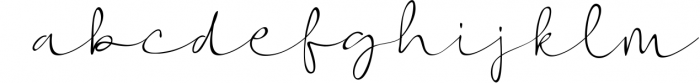 Vigetha Script Font Font LOWERCASE