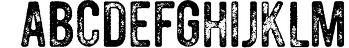 Vintage Pack-17 fonts and elements 5 Font UPPERCASE