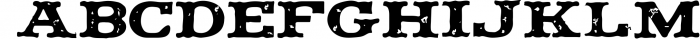 Vintage Pack-17 fonts and elements 7 Font UPPERCASE