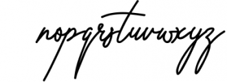 Violitta Signature typeface 1 Font LOWERCASE