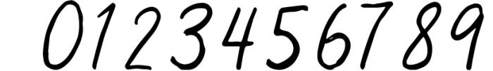 Virginal Font OTHER CHARS