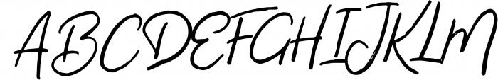 Virginal Font UPPERCASE