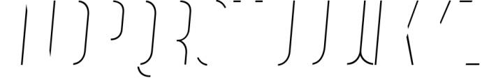 Vitacura 3 Font UPPERCASE