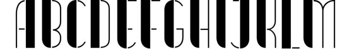 Vitacura 4 Font UPPERCASE