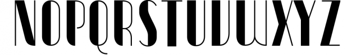 Vitacura 7 Font UPPERCASE