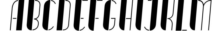 Vitacura 8 Font UPPERCASE