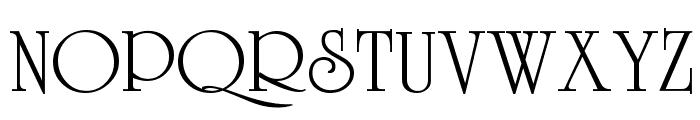 VI Duong Vi Font UPPERCASE