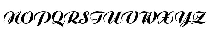 VI Moc Lan Font UPPERCASE
