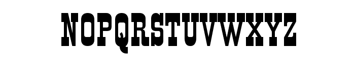 VI Old Town normal Font UPPERCASE