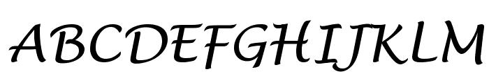 VI Phuong Thuy Hoa Font UPPERCASE