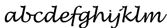 VI Phuong Thuy Font LOWERCASE