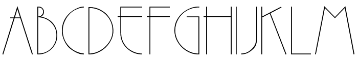 VI Tri Anh Hoa Font UPPERCASE
