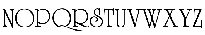 VI University H Font UPPERCASE