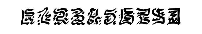 VICNORA Regular Font OTHER CHARS