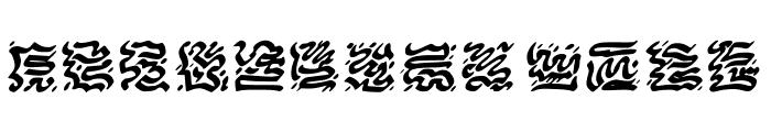 VICNORA Regular Font UPPERCASE