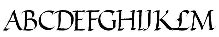 VICTOR HUGO Regular Font UPPERCASE