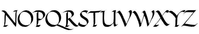 VICTOR HUGO Regular Font LOWERCASE