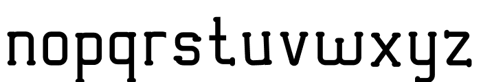 VICTORISA Font LOWERCASE