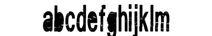 VINTAGE_CRE Font LOWERCASE