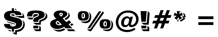 VINsonOpti Font OTHER CHARS