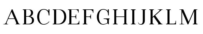 VIP Roman Regular Font UPPERCASE