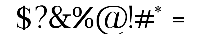 VIPRoman-Regular Font OTHER CHARS