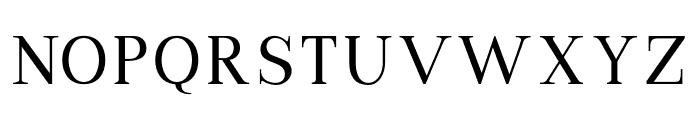 VIPRoman-Regular Font UPPERCASE