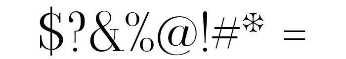 Viaoda Libre Regular Font OTHER CHARS