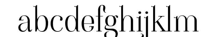 Viaoda Libre Regular Font LOWERCASE
