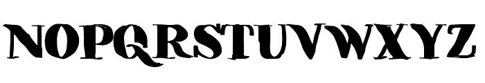 Vibers Font UPPERCASE