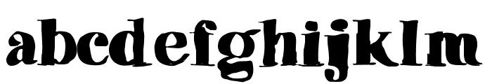 Vibers Font LOWERCASE