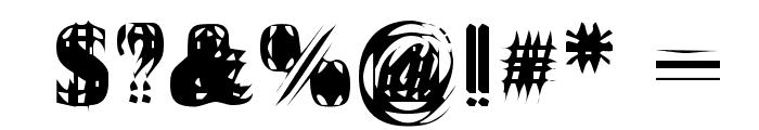 Vibrato Font OTHER CHARS