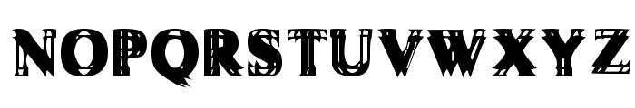 Vibrato Font UPPERCASE