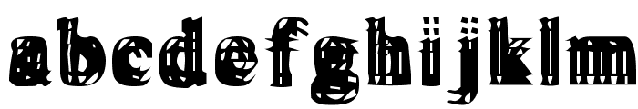 Vibrato Font LOWERCASE